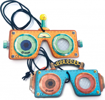 Caleidoscop tip Masca pentru Copii model Robot Jucarii