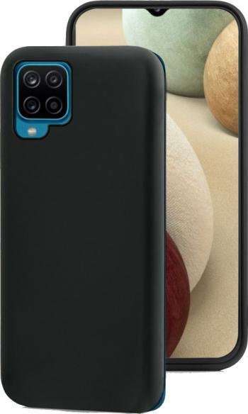 Husa protectie Rezistenta la socuri 0 6 mm TPU moale pentru Samsung Galaxy A12 Negru - Fonex