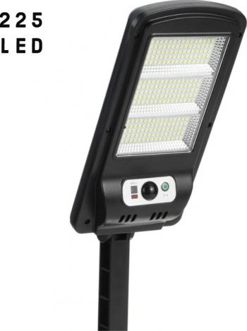 Lampa Led Solara Telecomanda si Senzor de miscare 225 LED Corpuri de iluminat