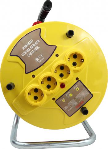 Prelungitor cablu electric cu tambur 20 m 3 x 2.5mm
