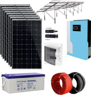 Sistem fotovoltaic hibrid 5.5 kWp Sisteme si panouri solare