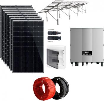 Sistem fotovoltaic on-grid 3.2 kWp monofazic cu PV Premium Sisteme si panouri solare