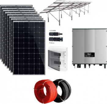 Sistem fotovoltaic on-grid 5 kWp monofazic cu PV Premium Sisteme si panouri solare