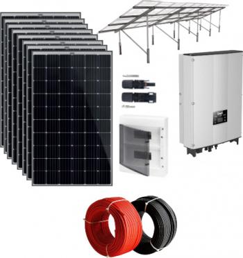 Sistem fotovoltaic on-grid 8 kWp trifazic cu PV Premium Sisteme si panouri solare