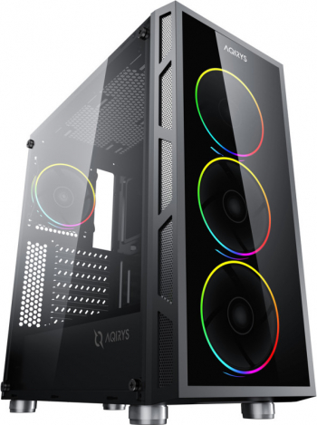 PC Gaming Diaxxa Impact AMD Ryzen 7 5800X 3.8GHz 2TB HDD+SSD 256GB NVMe 16GB DDR4 GTX 1660 SUPER 6GB GDDR6 192-bit Calculatoare Desktop