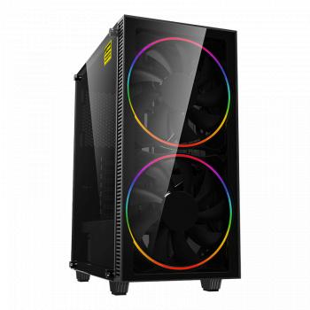 PC Gaming Diaxxa Advanced Intel 9th i5-9400F 1TB HDD+SSD 240GB 16GB DDR4 GeForce GTX 1660 6GB GDDR5 192-bit Calculatoare Desktop