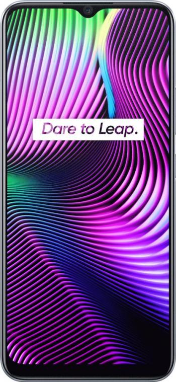Telefon Mobil Realme 7i 64GB Dual SIM 4G Silver Telefoane Mobile