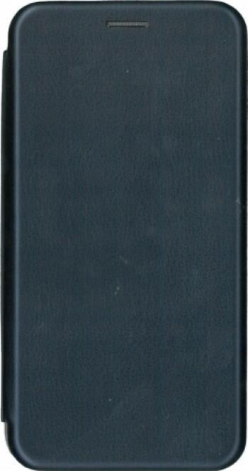 Husa de protectie tip carte 360 de grade pentru Samsung Galaxy A12 albastru
