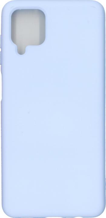 Husa Liquid din silicon mat pentru Samsung Galaxy A12 mov