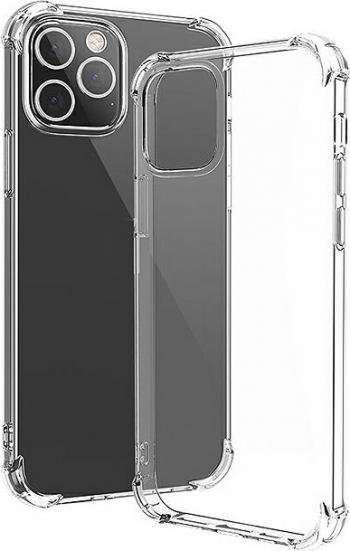 Husa Protectie Silicon Antisoc Tpu Transparent Compatibila cu Samsung Galaxy M11