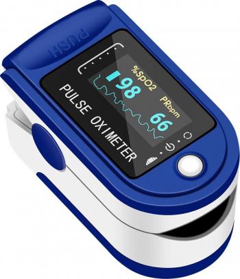 Pulsoximetru masurare nivel saturatie oxigen sange + puls copii si adulti Pulsoximetre
