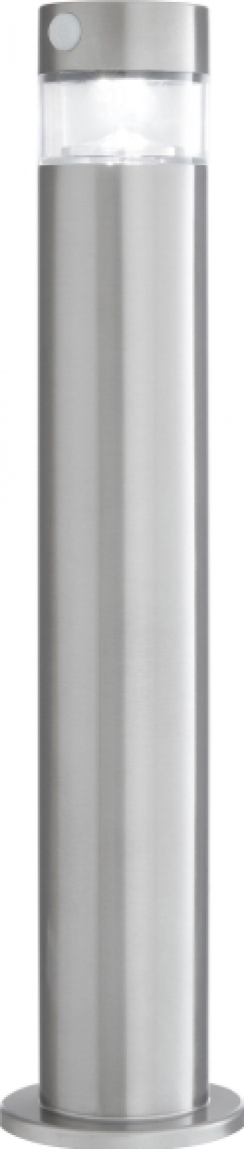 Stalp solar din inox cu senzor de miscare si timmer 49cm LED 2W Karina