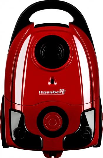 Aspirator cu sac Hausberg HB-2004RS 700 W Sac Panza Capacitate Sac 3 Litri Rosu
