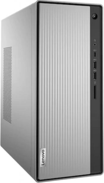 Desktop Lenovo IdeaCentre 5 14ARE05 AMD Ryzen 5 4600G 256GB SSD 8GB AMD Radeon DVD-RW Mouse+Tastatura Mineral Grey Calculatoare Desktop
