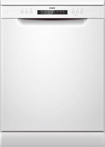 Masina de spalat vase Samus SDW61.6 12 seturi 6 programe Clasa E Extra Uscare Alb Masini de spalat vase