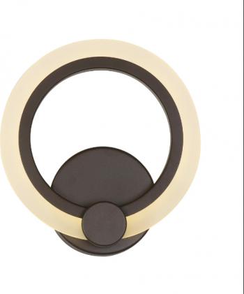 Aplica led de perete circle design aspect modern maro