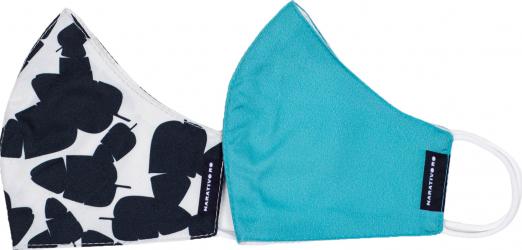 Set 2 masti fashion de protectie reutilizabile pentru femei Narativo M1 Masti chirurgicale si reutilizabile
