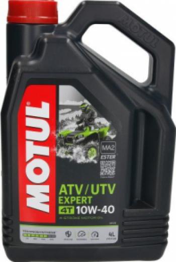 Ulei Motor pentru ATV-UTV MOTUL EXPERT 10W40 4 Litri