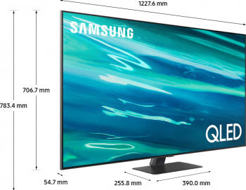 Televizor QLED 138 cm Samsung 55Q80A 4K Ultra HD Smart TV Televizoare