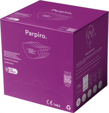 Set 30 Masti Protectie Copii FFP2 si FFP3 nivel filtrare. Protectie COVID-19. Certificate CE Masti chirurgicale si reutilizabile