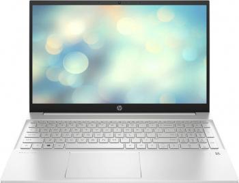Laptop HP Pavilion 15-eg0064nq Intel Core (11th Gen) i7-1165G7 512GB SSD 16GB Iris Xe FullHD Tastatura iluminata Natural Silver