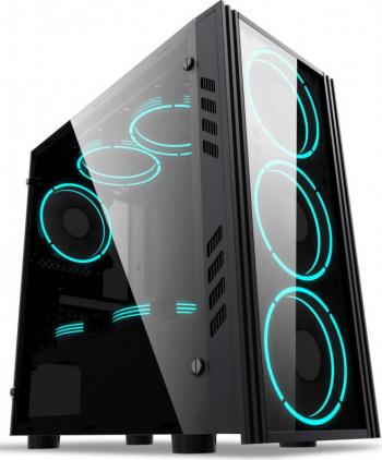 PC Gaming Diaxxa Smart AMD Ryzen 5 3400G 3.7GHz 1TB HDD+SSD 256GB NVMe 16GB DDR4 GeForce RTX 3060 12GB GDDR6 192bit
