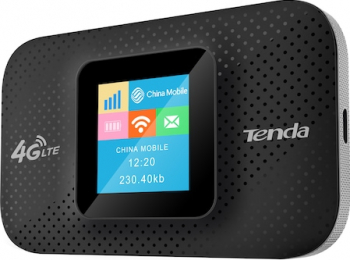 Router wireless portabil Tenda 4G185 4G 2100mAh 150Mbps Routere