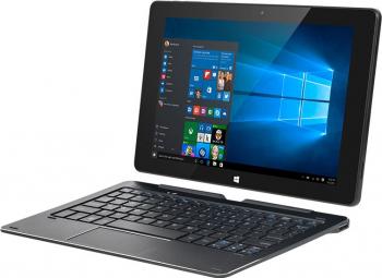Tableta cu tastatura Kruger Matz Edge 1088 10.1inch 64GB WiFi Windows 10 Negru