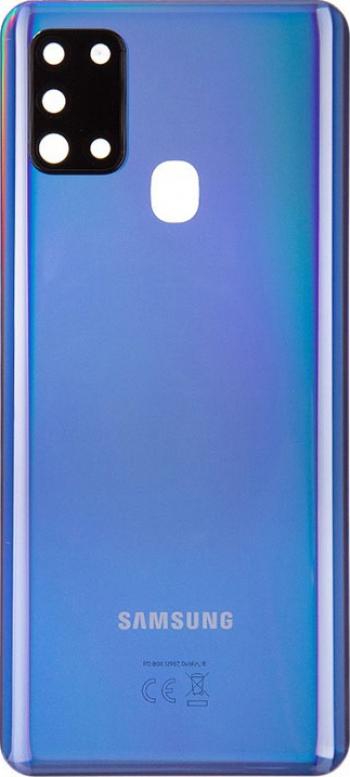 Capac Baterie SAMSUNG GALAXY A21s A217 ORIGINAL SWAP + geam camera GH82-22780C Albastru Piese si componente telefoane
