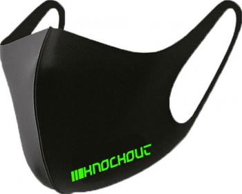 Masca Knockout - Neon Green Sporturi de contact si autoaparare