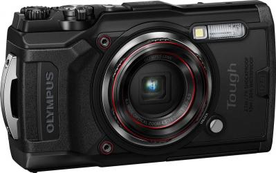 Aparat Foto Compact Olympus TG-6 Subacvatic 12MP Negru Aparate foto compacte
