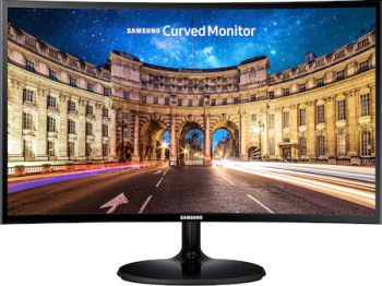 Monitor Gaming Curbat LED 24 Samsung LC24F390FHRXEN Full HD 4 ms 60 Hz FreeSync Monitoare LCD LED