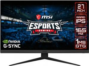 Monitor Gaming LED MSI Optix G273QF 27 inch QHD 1ms 165hz IPS G-Sync
