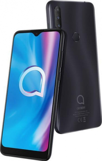 Telefon mobil Alcatel 1S 32GB Dual SIM 4G Gri Telefoane Mobile