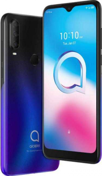 Telefon mobil Alcatel 3L 64GB Dual SIM 4G Albastru Telefoane Mobile