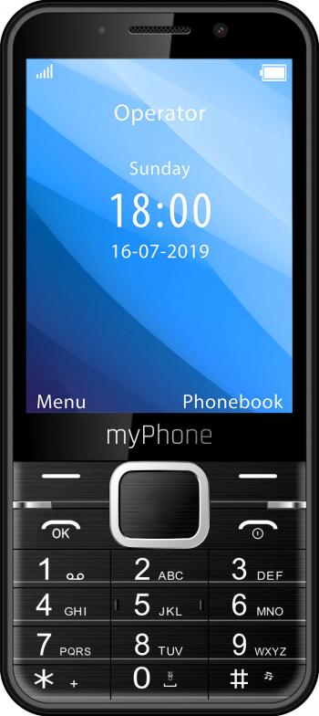 Telefon mobil MyPhone UP Dual SIM 1200MAH Negru