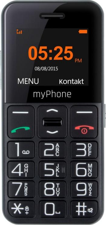 Telefon mobil MyPhone Halo Easy Black