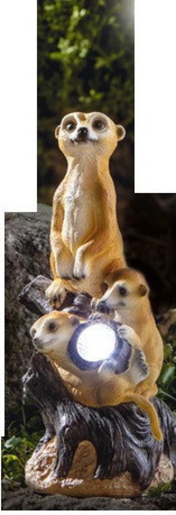 Decoratiune solara I-Glow mangusta copii Corpuri de iluminat
