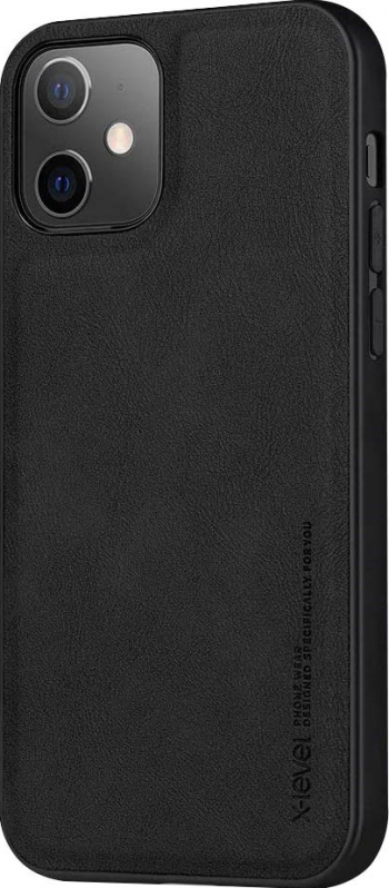Husa Slim Premium X-level Earl 3 Series Compatibila cu Iphone 11 Pro Negru Huse Telefoane