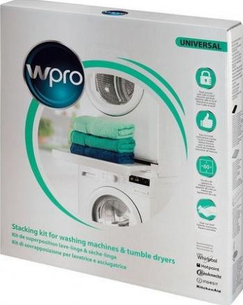 Kit suprapunere masina de spalat uscator universal 60x60 cu sertar Wpro Accesorii electrocasnice