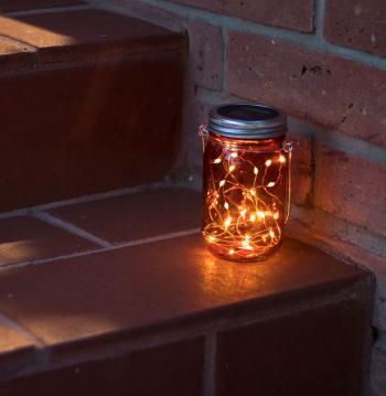 Lampa Solara LED Suspendabila din Sticla cu micro-LED-uri Corpuri de iluminat