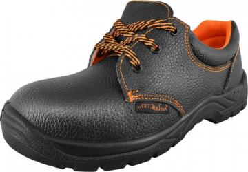 Pantofi de protectie cu bombeu metalic marimea 45 BPS1-45 Articole protectia muncii