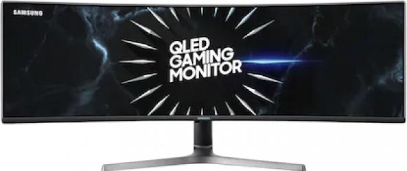 Monitor Gaming Curbat LED 49 Samsung Odyssey LC49RG90SSRXEN Dual QHD 4ms 120Hz QLED FreeSync