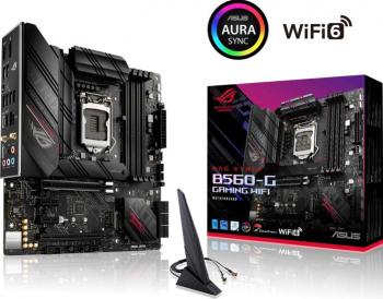 Placa de baza ASUS ROG STRIX B560-G GAMING WIFI Socket 1200 Placi de baza
