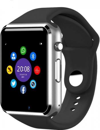 Ceas smart multifinctional siegbert tip iwatch negru Smartwatch
