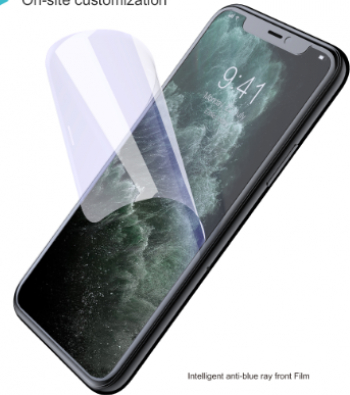 Folie Protectie Ecran TPU Silicon Anti-Blue Rey CUBOT Quest Lite Devia Transparent Blister Folii Protectie