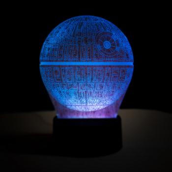 Lampa de veghe Death Star- AddaGifts Corpuri de iluminat