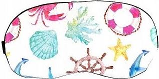 Masca de dormit din satin model Ocean Gonga
