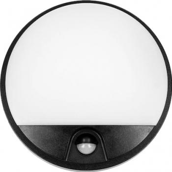 Aplica de gradina ORNO AGAT OR-OP-6111BLPMR4 10W LED SMD 850lm IP54 4000K Negru Alb Corpuri de iluminat