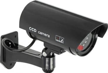 Camera supraveghere falsa CCTV ORNO OR-AK-1208/B dummy LED intermitent Negru Camere de Supraveghere